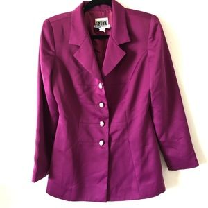 Saks Fifth Avenue Folio Purple Blazer